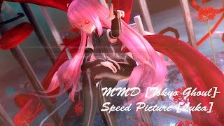 MMD [Tokyo Ghoul]-Speed Picture [Luka]