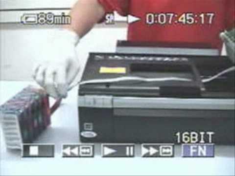 Video Manual Sistema Continuo Epson