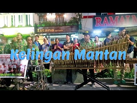 Download Lagu KELINGAN MANTAN - Angklung Malioboro (Pengamen Kreatif Jogja) Edisi Rajawali (NDX AKA) MP3 Free
