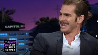 Andrew Garfield Loves James Corden & Tangible Skills