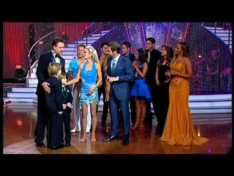 Russell Crowe Surprises Wife Danielle Spencer on DWTS Australia