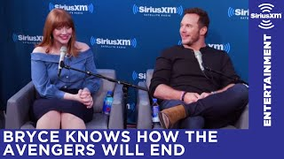 Bryce Dallas Howard knows the ending of The Avengers
