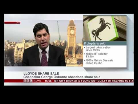 Richard Burgon BBC News (Lloyds shares & Google tax deal)