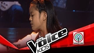 """The Voice Kids Philippines Blind Audition """"Power of Love"""" by Giedie  from The Voice Kids Philippines"""