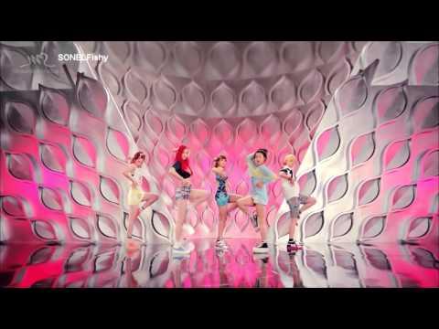 F(x) - Rum Pum Pum Pum (mirrored Dance Version) video