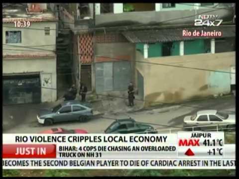 Rio Violence Cripples Local Economy