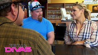 Natalya & Jim Neidhart interview people for the cooking class: Total Divas Bonus Clip, Dec. 20, 2016