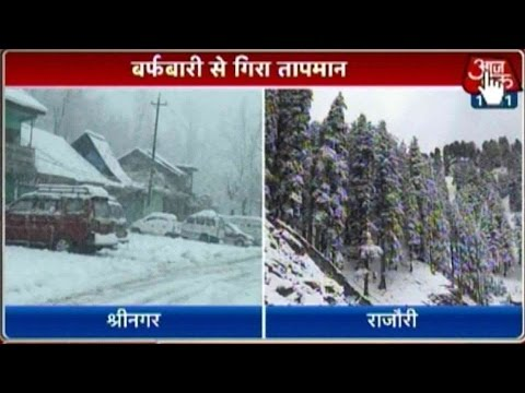 Fresh Snowfall Closes Jammu-Srinagar National Highway