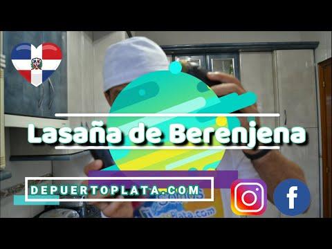"""Hice las pase con las berenjenas """"Lasaña de Berenjena""""."""