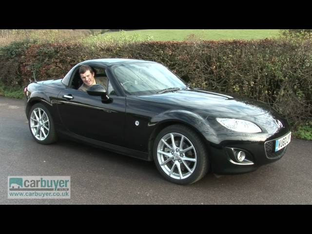 Mazda MX-5 roadster review - CarBuyer - YouTube