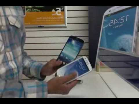 Samsung Galaxy S4 vs S3 vs Mega Vs Exhibit & Review Metro PC