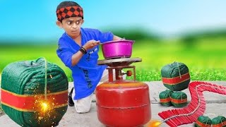 छोटू का गैस | CHOTU ka GAS | Khandesh Hindi Comedy Video | Chotu Dada Comedy