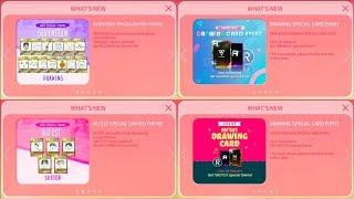 SuperStar PLEDIS | SEVENTEEN & NU'EST - Drawing Card Event & Purchase NU'EST LE Cards