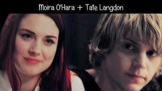 moira+tate || your body {ahs}