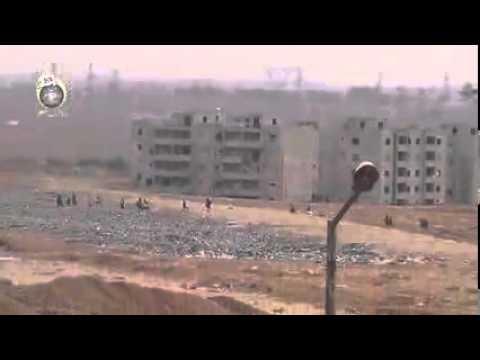 18+ FSA Free Syrian Army war crimes Adra massacre rebels firing mortars, guns at fleeing civilians