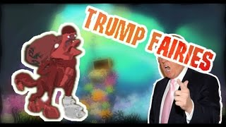 Animal Jam Donald Trump Fairies Troll - HUMOR