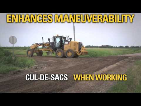 Cat® M-Series Motor Graders   Integrated Technologies