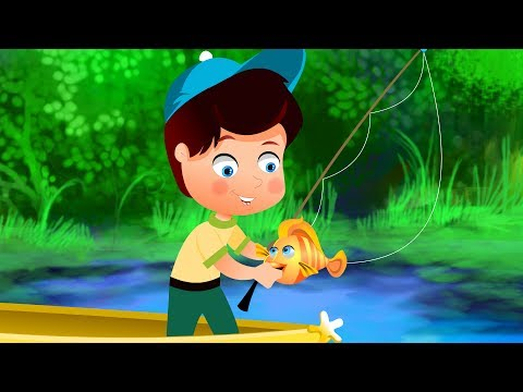 Once I Caught A Fish Alive | Kindergarten Nursery Rhymes | Cartoons For Children by Kids Tv
