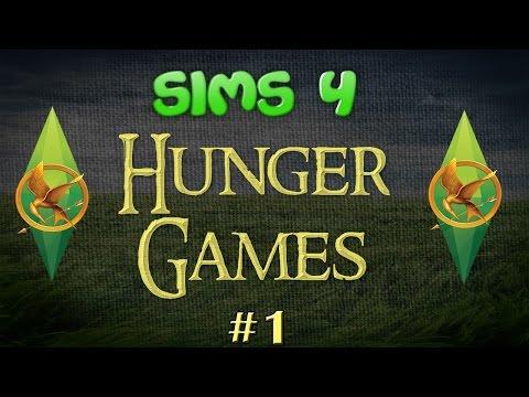 Sims 4 Hunger Games #1 Gettign Settled!