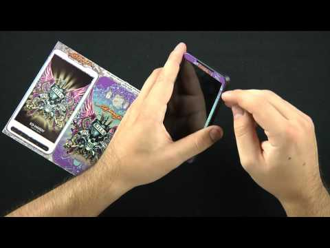 HTC HD2 Ed Hardy Skins Review Video