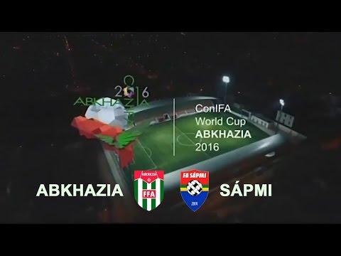 Чемпионат Мира по футболу ConIFA 2016. Абхазия - Лапландия. 1/4 финала. 01.06.2016