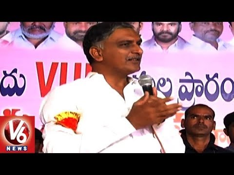 Minister Harish Rao: If Andhra Pradesh Gets Special Status, Telangana Should Too | V6 News