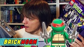 LEGO Черепашки! #2 - Baxter Stockman (Lego TMNT) - Brickworm