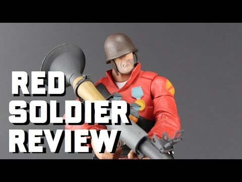 Red Soldier TF2 Action Figure Review From NECA By Glasseater