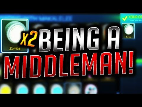 BEING A MIDDLEMAN! EP.7 Rich Trades! ( Rocket League Trading )