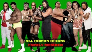 Top 15 Best ROMAN REINGS FAMILY WRESTLERS - WWE Anoa'i Family 2019 [HD]