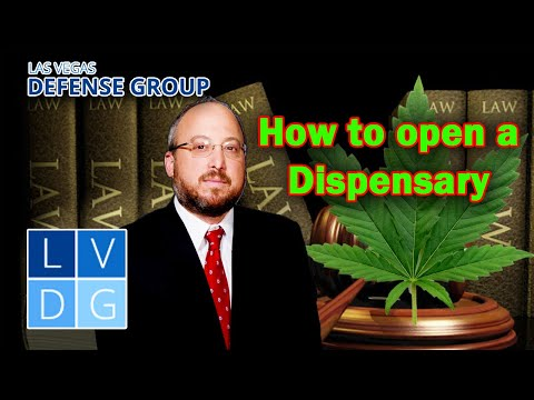 How to open a medical marijuana dispensary in Nevada