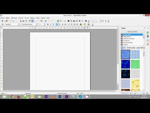 OpenOffice Writer - Partie 1 - Présentation du logiciel
