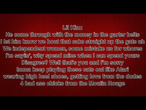 Christina Aguilera, Pink, Mya and Lil Kim - Lady Marmalade Lyrics