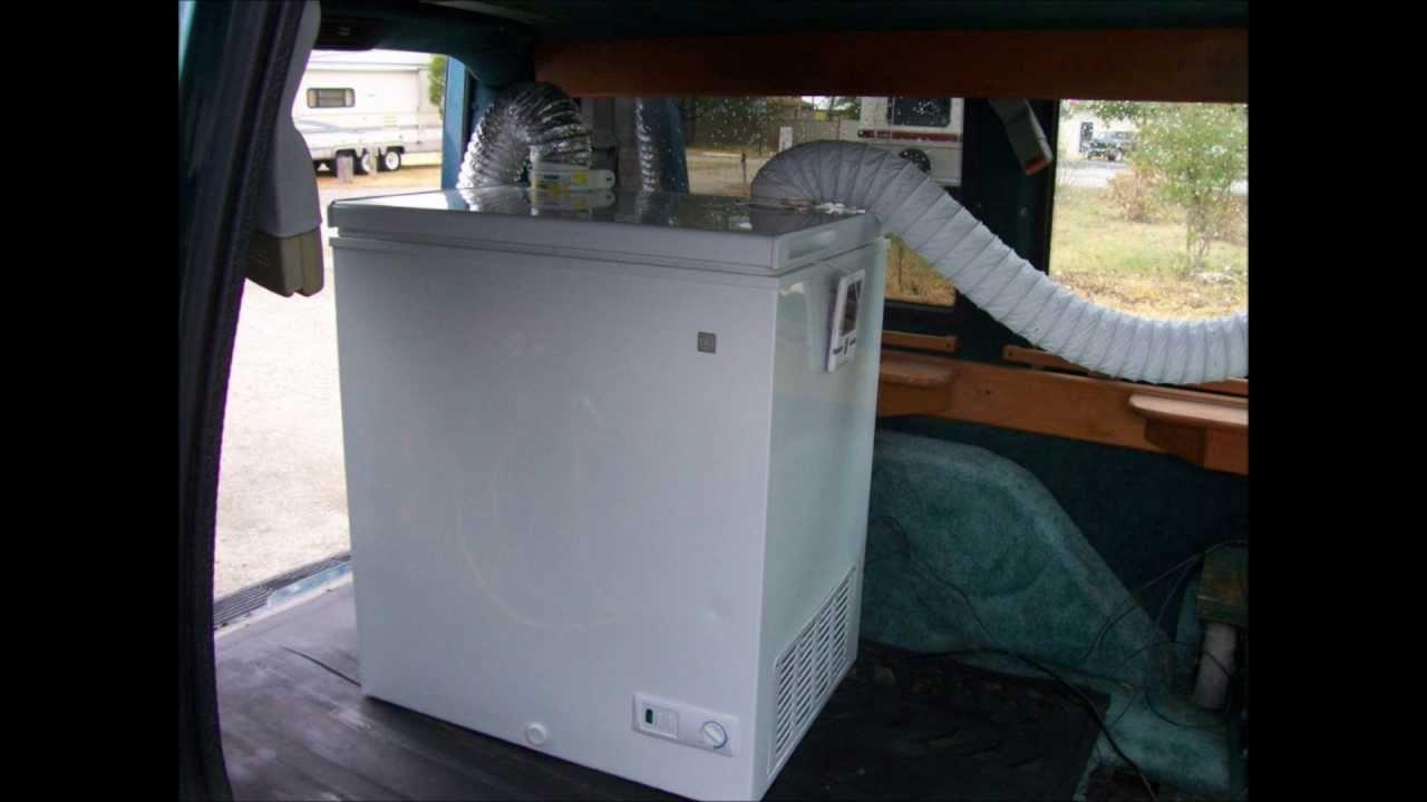 Кондиционер в авто из старого холодильника