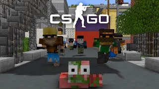 Monster School : Counter-Strike Global Offensive - Minecraft Animations