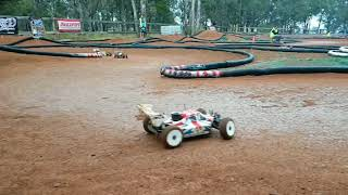 2017 NSW buggy Titles Drifting in wet RC Car racing