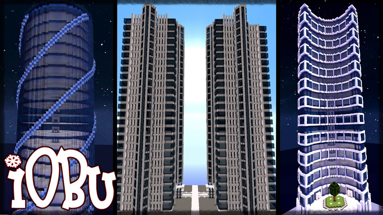 3 more huge skyscrapers skyscraper city ep 4 minecraft timelapse let 39 s build with