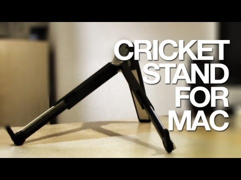 Unboxing & Review: Avanca, The Cricket stand for Macbooks (also for Laptop, Tablet or iPad)