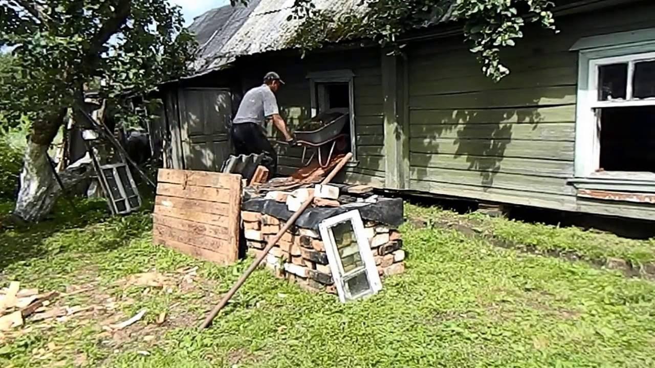 Ремонт деревенского дома своими руками 80