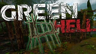 Green Hell - Running From A Tribal Army - We Got The Weapon Rack - Green Hell Gamplay