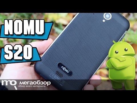 Nomu S20 обзор смартфона с IP68