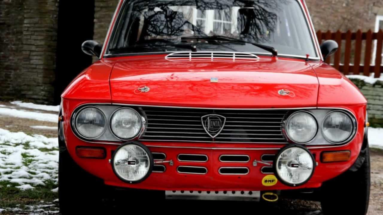 Lancia Fulvia Coupe 1600 Hf Group 4 Fia Rally Car 1972