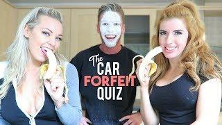 The Car Quiz Forfeit Game! (ft Gabrielle Taylor & Lexi Jane)