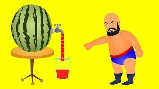 Bahubali family making juice finger family \ bahubali finger family rhymes