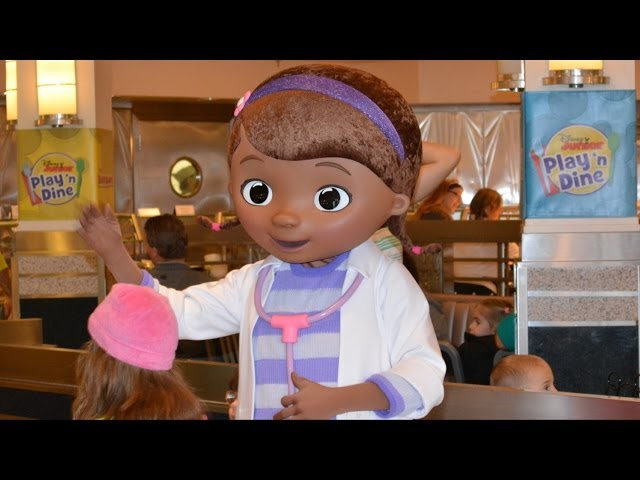Sofia the First, Doc McStuffins - Disney Junior Play 'n Dine Full Show at Disney's Hollywood Studios