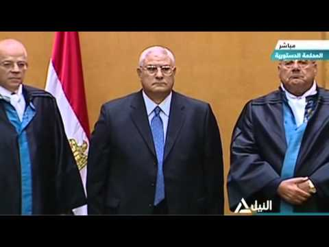 Raw: Egypt Swears in New President