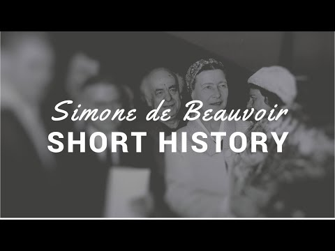 Philosophy: Simone de Beauvoir: Biography (English)