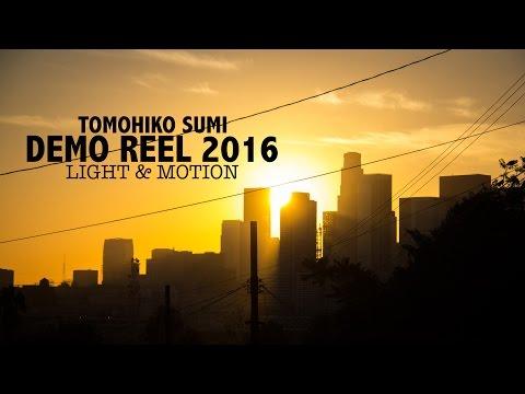 Tomohiko Sumi - Demo Reel 2016 - Light & Motion