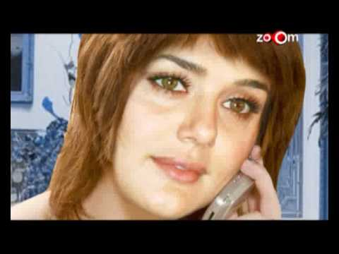 Preity Zinta has been angered