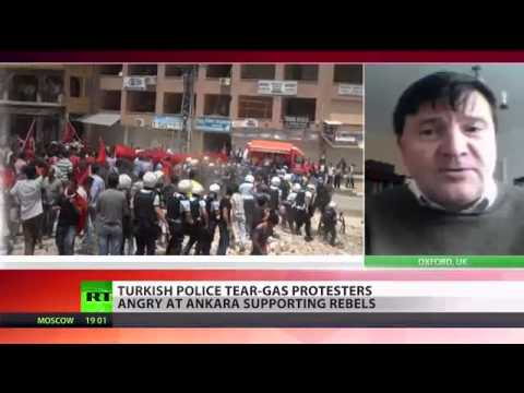 18 May, 2013 - Turks Riot over Erdo�an's Support For Syrian Terrorist Rebels